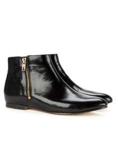 http://www.tedbaker.com JEEMA Flat ankle boot      £130