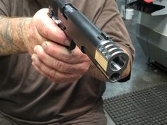 1911COMPENSATOR.com - Stainless Steel 1911 Mark II Punisher Muzzle Brake Silver FinishLoading that magazine is a pain! Get your Magazine speedloader today! http://www.amazon.com/shops/raeind