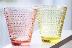 本日より発売開始 イッタラ カステヘルミ タンブラーのレモンとピンクの限定カラーです price: 3500tax - http://ift.tt/1HQJd81