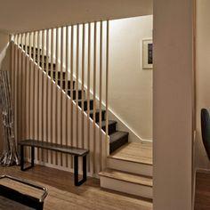farmhouse staircase by Jon+Aud Design