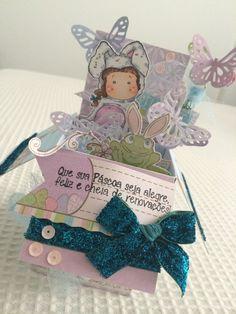 Card in Box magnolia