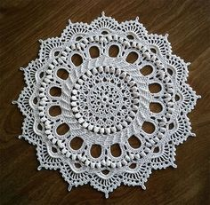 Splendid Doily- Patricia Kristoffersen designs by LaceCrochet