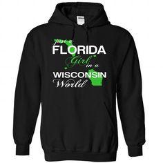 I Love JustXanhLa002-004-Wisconsin GIRL T-Shirts