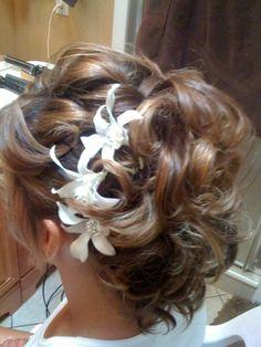 Hawaii wedding hair