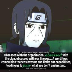 Here is Itachi Uchiha Quotes for you. Anime Naruto, Naruto Shippuden Anime, Manga Anime, Itachi Uchiha, Gaara, Kakashi, Anime Qoutes, Manga Quotes, Blue Exorcist