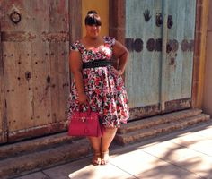 Spring is here...in my imagination. -TMC~~ GarnerStyle | The Curvy Girl Guide: Lady V London
