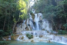 Laos Rundreisen - Jetzt Urlaub buchen! |Tai Pan Laos, Vietnam, Asia, Outdoor, Vacation Package Deals, Cambodia, Waterfall, Tourism, Outdoors