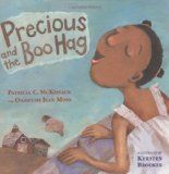 Groovy Storytimes: preschool story time lesson ideas for Halloween: Story: Precious and the Boo Hag, Theme: Halloween & Childhood Fears; Spiritual Authority in Jesus