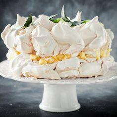 Pina Colada Merengue Cake...tropical sin