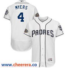 a95031a1b9e4 Men's San Diego Padres Eric Hosmer Majestic White Anniversary Home Flex Base  Player Jersey
