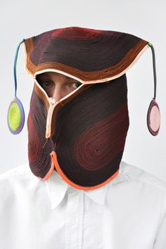"These rather great (and not at all creepy) masks are a product of the  wonderful Bertjan Pot studio: the destination of a sideways approach to  materials and the forms they reveal. As explained in this video profile of  the designer, ""When his creativity isn't sufficiently challenged, Pot he"