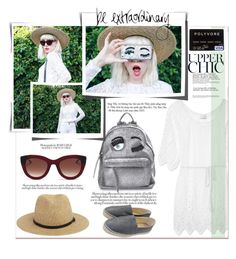 """""""be extraordinary"""" by meylimayli ❤ liked on Polyvore featuring Chiara Ferragni, Miguelina, Thierry Lasry and Chanel"""
