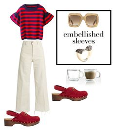 preppy embellished sleevs by owen-996 on Polyvore featuring polyvore fashion style Rachel Comey Gucci Miriam Salat Bodum clothing