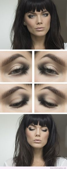 Linda Hallberg nice nude makeup. Use a simple makeup like this and a new hairstyle, ypu'll lokk awesome.