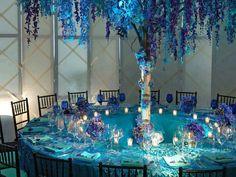 Lovely lavender aqua blue