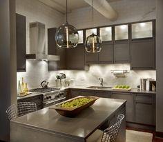 TERRA Dark Oak Kitchen in Chicago