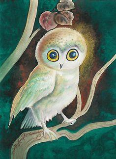 'Elf Owl' by AngelArtiste