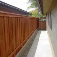 Modern Fence and Gate