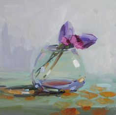 Flower paintings by Amy Brnger Small Canvas Paintings, Paintings I Love, Beautiful Paintings, Acrylic Painting Flowers, Acrylic Art, Watercolor Artists, Watercolor Paintings, Impressionism Art, Art Pictures