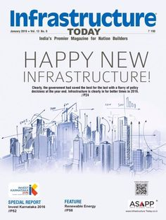 Infrastructure Today January 2016 Issue- Happy New Infrastructure!  #InfrastructureToday #Infrastructure #Construction #newyear2016 #ebuildin