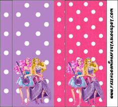 Imprimibles Barbie Princesa y Pop Star 5. | Ideas y material gratis para fiestas y celebraciones Oh My Fiesta!