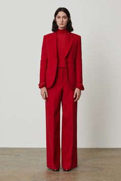 Theory Fall 2019 Ready-to-Wear Fashion Show - Vogue Suit Fashion, Fashion Week, New York Fashion, Look Fashion, Hijab Fashion, Autumn Fashion, Fashion Outfits, Classy Outfits, Chic Outfits
