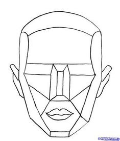 drawing the human head Drawing The Human Head, Drawing Heads, Drawing Faces, Face Proportions Drawing, Planes Of The Face, Geometric Face, Male Figure Drawing, Poses References, Anatomy Drawing