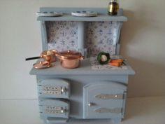 Dolls house  cooker arga style stove 1 12th by SmallthingsbyAmanda, £11.00