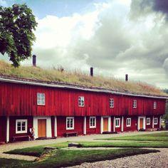 Siggebohyttan Sweden Old houses  1700- tal