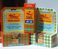 What Is Tiger Balm Used for?
