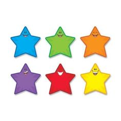 Trend Enterprises Classic Accents Variety Star Smiles Pack