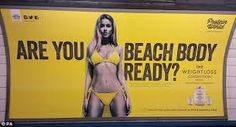 Image result for summer bodies are made in winter advertising