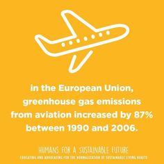 7 billion people live on #Earth - individual choices DO matter.  U.S. #airlines alone burned about 16.2 billion gallons of fuel during the twelve months between October 2013 and September 2014.  And in the European Union #greenhouse gas #emissions from aviation increased by 87% between 1990 and 2006.  Source: http://ift.tt/1VQJFw3  #itmatters #themoreyouknow #sustainable #earth #education #ecofriendly #empowerment #recycle #sustainability #sustainable #sustainablefuture #future #hope…