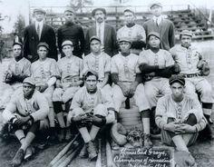 Homestead Grays of the Washington DC Negro League, 1913.