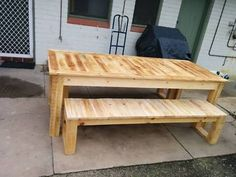 PALLET FURNITURE -Kitchen-dinning Table- Outdoor Table | Dining Tables | Gumtree Australia West Torrens Area - Thebarton | 1134291198
