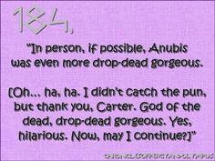 Anubis is just drop dead gorgeous