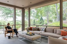 The Cliffs at Walnut Cove - Modern - Porch - Other - by Samsel Architects