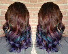 10 Cabelos Coloridos Para Morenas