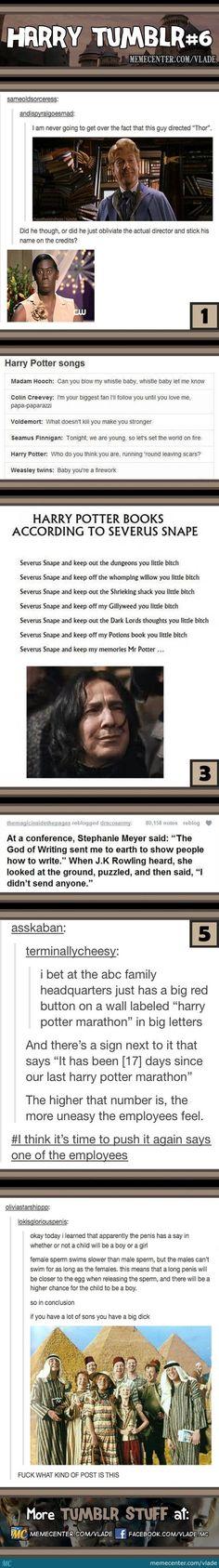 Harry Potter tumblr 6:
