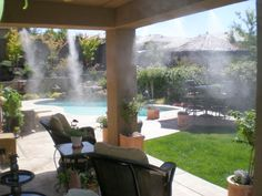 The temperatures can get pretty intense during the summer! depending on where you live, these temperatures can skyrocket into the triple digits! Our misting sy Lake Powell, Irrigation, Patio Mister, Misting Nozzles, Flexible Tubing, Sr1, Cooling System, Parasol, Outdoor Living