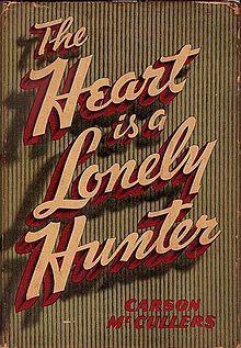 Capa - primeira edição do livro da  escritora Carson mcCullers - 1940