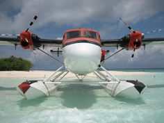 Flying as work:    taken by Bo Brownell in the Maldives