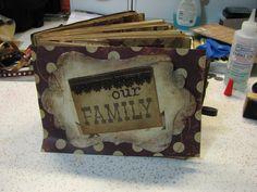 Our Family - an paper bag album - Scrapbook.com