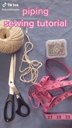 Sewing Basics, Sewing Hacks, Sewing Tutorials, Sewing Crafts, Sewing Projects, Sewing Patterns, Sewing Tips, Techniques Couture, Sewing Techniques
