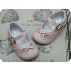 Zapatos niña - Calzado infantil -Merceditas rosa Landos
