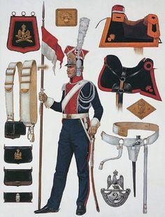 """Imperial Guardsman - Cavalry Equipment: Trooper, 1st (Polish) Lancers"", Richard Hook"