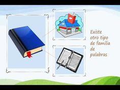 """Interesante vídeo de clase invertida sobre """"FAMILIA DE PALABRAS"""" para tercer año de Básico. #flipped #educacion"""