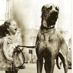 Throwback to having a dog as big as a horse.