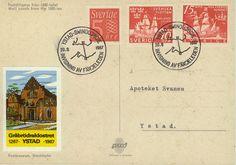 Invigningen av färjeleden Ystad-Swinoujscie 20,6,1967