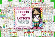 A huge unit to help your Kindergarteners learn those letters!